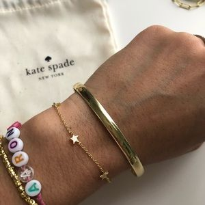 Heart of Gold Kate Spade Bangle Bracelet ♠️